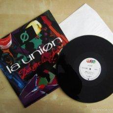 Discos de vinilo: LA UNION - DAMELO YA - MAXI VINILO ORIGINAL 1991 PRIMERA EDICION WEA WARNER MUSIC. Lote 57110844