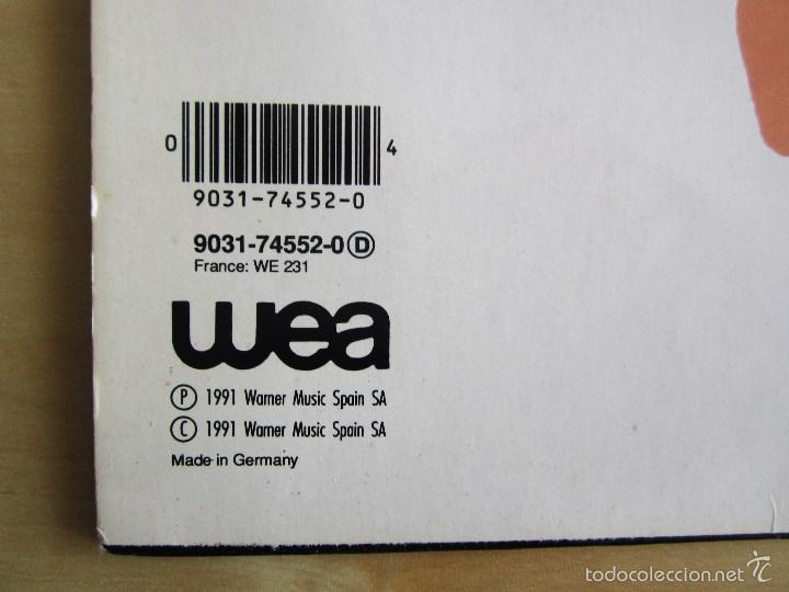 Discos de vinilo: LA UNION - DAMELO YA - MAXI VINILO ORIGINAL 1991 PRIMERA EDICION WEA WARNER MUSIC - Foto 5 - 57110844