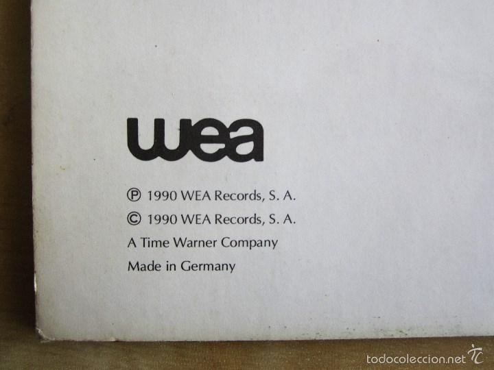 Discos de vinilo: LA UNION - ELLA ES UN VOLCAN - MAXI VINILO ORIGINAL 1990 PRIMERA EDICION WEA WARNER MUSIC - Foto 5 - 57110997