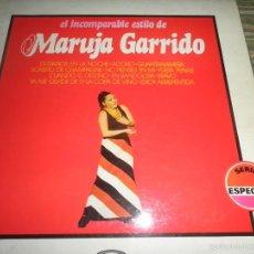 Discos de vinilo: MARUJA GARRIDO - EL INCOMPARABLE ESTILO DE LP - EDICION ESPAÑOLA - MOVIEPLAY 1973 - STEREO -. Lote 57113825
