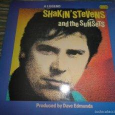 Discos de vinilo: SHAKIN´STEVENS AND THE SUNSETS - A LEGEND LP - ORIGINAL INGLES - EMI 1970 - MUY NUEVO (5).. Lote 57114664