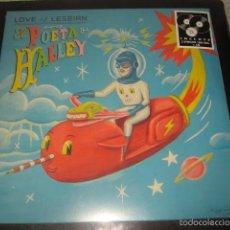 Discos de vinilo: LP LOVE OF LESBIAN EL POETA HALLEY 2 LP + CD PRECINTADO. Lote 57115157