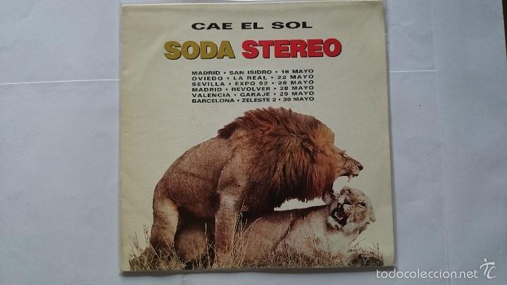 SODA STEREO (GUSTAVO CERATI) - CAE EL SOL (PROMO 1992) (Música - Discos - Singles Vinilo - Grupos Españoles de los 90 a la actualidad)