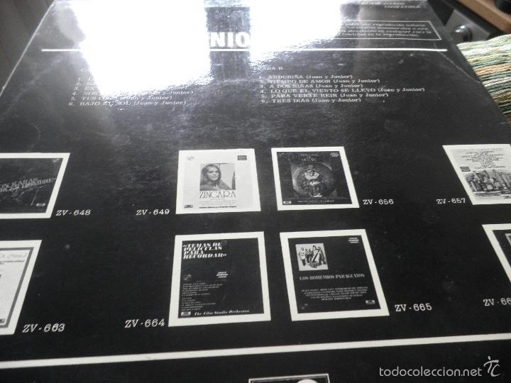 Discos de vinilo: JUAN & JUNIOR - LO MEJOR DE LP - EDICION ESPAÑOLA - ZAFIRO RECORDS 1972 - STEREO- - Foto 6 - 57115564