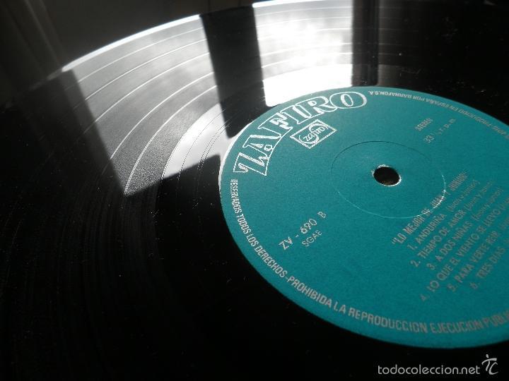 Discos de vinilo: JUAN & JUNIOR - LO MEJOR DE LP - EDICION ESPAÑOLA - ZAFIRO RECORDS 1972 - STEREO- - Foto 15 - 57115564