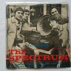 Discos de vinilo: THE SPECTRUM - SAMANTHA (SAMANTHA'S MINE) / SATURDAY'S CHILD (LA CHICA DEL SABADO) (1967) . Lote 57116366