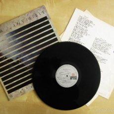 Discos de vinilo: DANZA INVISIBLE - MARATON - MINI LP EN VINILO ORIGINAL 1985 ARIOLA PRIMERA EDICION. Lote 57116767