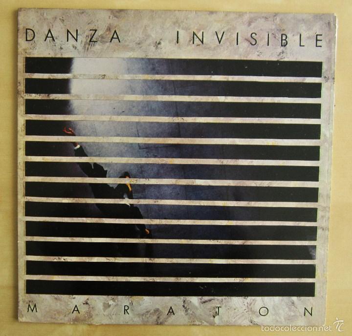 Discos de vinilo: DANZA INVISIBLE - MARATON - MINI LP EN VINILO ORIGINAL 1985 ARIOLA PRIMERA EDICION - Foto 2 - 57116767