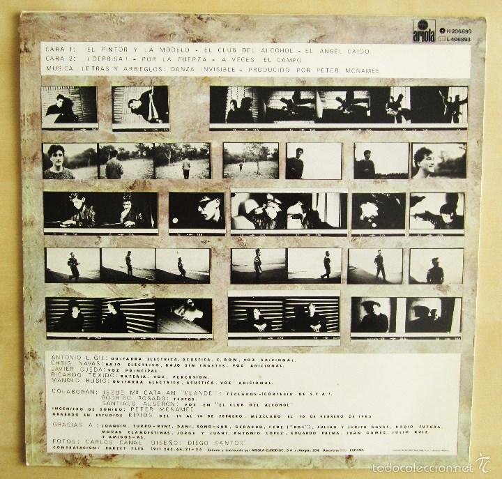 Discos de vinilo: DANZA INVISIBLE - MARATON - MINI LP EN VINILO ORIGINAL 1985 ARIOLA PRIMERA EDICION - Foto 3 - 57116767