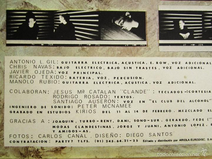 Discos de vinilo: DANZA INVISIBLE - MARATON - MINI LP EN VINILO ORIGINAL 1985 ARIOLA PRIMERA EDICION - Foto 4 - 57116767