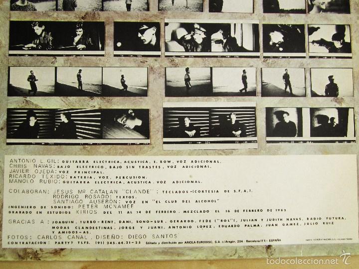 Discos de vinilo: DANZA INVISIBLE - MARATON - MINI LP EN VINILO ORIGINAL 1985 ARIOLA PRIMERA EDICION - Foto 5 - 57116767