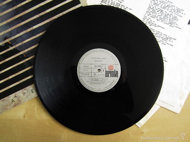 Discos de vinilo: DANZA INVISIBLE - MARATON - MINI LP EN VINILO ORIGINAL 1985 ARIOLA PRIMERA EDICION - Foto 8 - 57116767