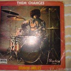 BUDDY MILES - THEM CHANGES + 3 CANCIONES // 1971 // EP // CIRCULO DE LECTORES // PERGOLA