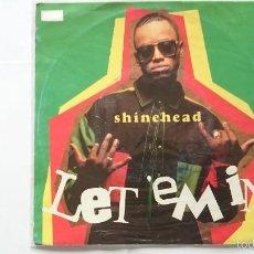 Discos de vinilo: SHINEHEAD - LET 'EM IN / JAMAICAN IN NEW YORK (EDIC. ALEMANA 1993). Lote 57121141