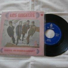 Discos de vinilo: LOS ANGELES 7´SG. ESCAPATE / HAS AMADO ALGUNA VEZ (1967) BUENA CONDICION + DIFICIL DE VER*. Lote 57121381