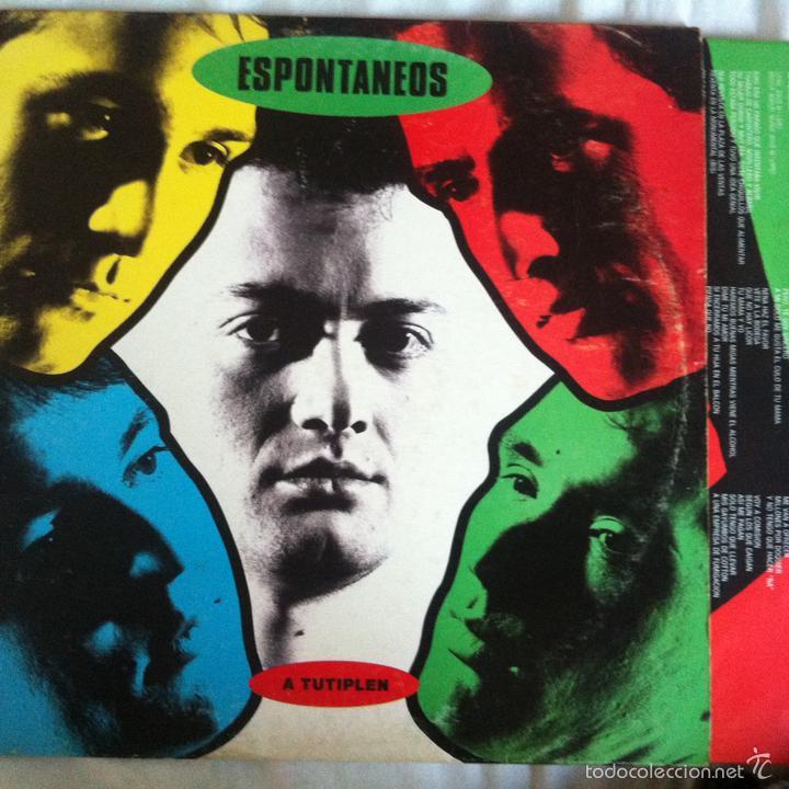 LP ESPONTANEOS-A TUTIPLEN (Música - Discos - LP Vinilo - Grupos Españoles de los 70 y 80)