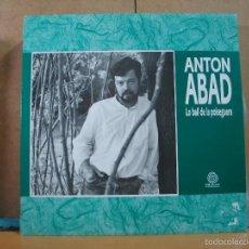 Discos de vinilo: ANTON ABAD - LO BALL DE LA POLSEGUERA - TRAM TRM-0015 - 1992. Lote 57125520