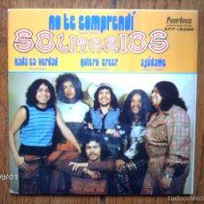 Discos de vinilo: LOS SOLITARIOS - NO TE COMPRENDI + 3 EDICIÓN MEXICANA. Lote 57128335