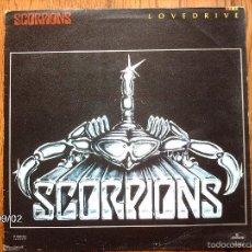 Discos de vinilo: SCORPIONS - LOVEDRIVE - EDICIÓN MEXICANA. Lote 57128727