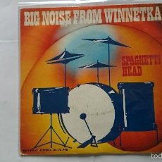 Discos de vinilo: SPAGHETTI HEAD - BIG NOISE FROM WINNETKA (INSTRUMENTAL) / FUNKY AXE (1974). Lote 57131376