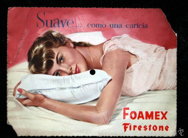 DISCO PUBLICIDAD - FOAMEX FIRESTONE - NOCHE BELLA DE SONNY BURKE Y PEGGY LEE (Música - Discos - Singles Vinilo - Otros estilos)