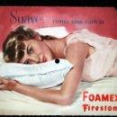Discos de vinilo: DISCO PUBLICIDAD - FOAMEX FIRESTONE - NOCHE BELLA DE SONNY BURKE Y PEGGY LEE. Lote 57134270