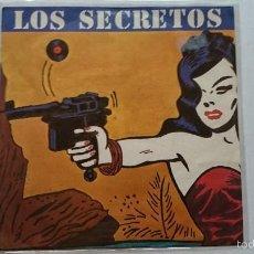 Discos de vinilo: LOS SECRETOS - NO ME IMAGINO / NO ME IMAGINO (INSTRUMENTAL) 1983). Lote 57135826