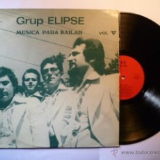 Discos de vinilo: GRUP ELIPSE # MUSICA PARA BAILAR VOL V. BARNAFON LP 473 MUY RARO 1974. Lote 57136641