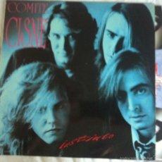 Discos de vinilo: LP COMITE CISNE-INSTINTO. Lote 57138139