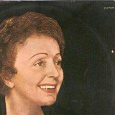 Discos de vinilo: EDITH PIAF - RECITAL 1962 - LP LA VOZ DE SU AMO SPAIN 1963. Lote 57138770