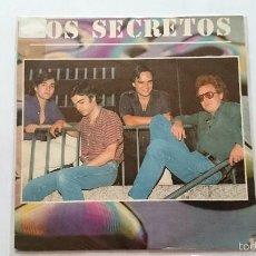 Discos de vinilo: LOS SECRETOS - HOY NO / EN EL BAR (1983). Lote 57139780