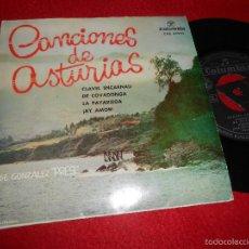 Discos de vinilo: JOSE GONZALEZ PRESI CLAVEL ENCARNAU/DE COVADONGA/LA PAYARIEGA/¡AY AMOR! EP 1961 ASTURIAS EX. Lote 57142746