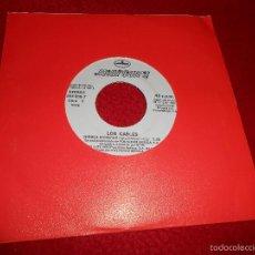 Discos de vinilo: LOS CABLES MIRALA SANGRAR 7 SINGLE 1992 MERCURY PROMO DOBLE CARA EX POP ROCK. Lote 57142780