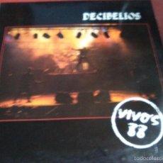 Discos de vinilo: DECIBELIOS VIVOS 88 (LA POLLA RECORDS,HERTZAINAK,VOMITO,KORROSKADA. Lote 57143209