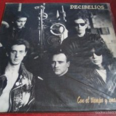 Discos de vinilo: DECIBELIOS CON EL TIEMPO Y UNA CAÑA. Lote 57143269