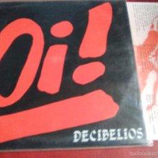 Discos de vinilo: DECIBELIOS OI (LA POLLA RECORDS,HERTZAINAK,VOMITO,KORROSKADA. Lote 57143285