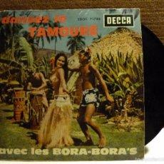 Discos de vinilo: DANSEZ LE TAMOURE AVEC LES BORA - BORA.S. Lote 57143892