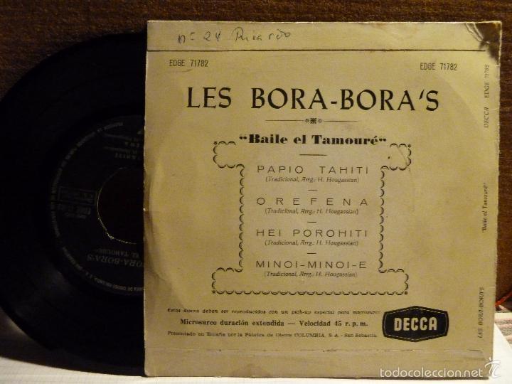 Discos de vinilo: DANSEZ LE TAMOURE AVEC LES BORA - BORA.S - Foto 2 - 57143892