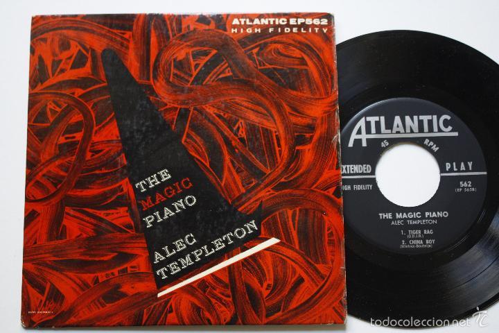 ALEC TEMPLETON- THE MAGIC PIANO- IDA- USA EP 1960- EXC. CONDITION. (Música - Discos de Vinilo - EPs - Jazz, Jazz-Rock, Blues y R&B)