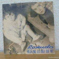 Discos de vinilo: ROSENDO. DEJA QUE LES DIGA QUE NO. DRO 1991. VER FOTOGRAFIAS ADJUNTAS.. Lote 57149899