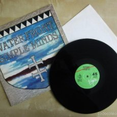 Discos de vinilo: SIMPLE MINDS - WATERFRONT - MAXI SINGLE VINILO ORIGINAL 1984 PRIMERA EDICION VIRGIN ESPAÑA. Lote 57151392
