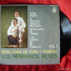 Discos de vinilo - LOS HERMANOS REYES POR SEVILLANAS VOL 1 - SINGLES 45 RPM 1972 - 57152037