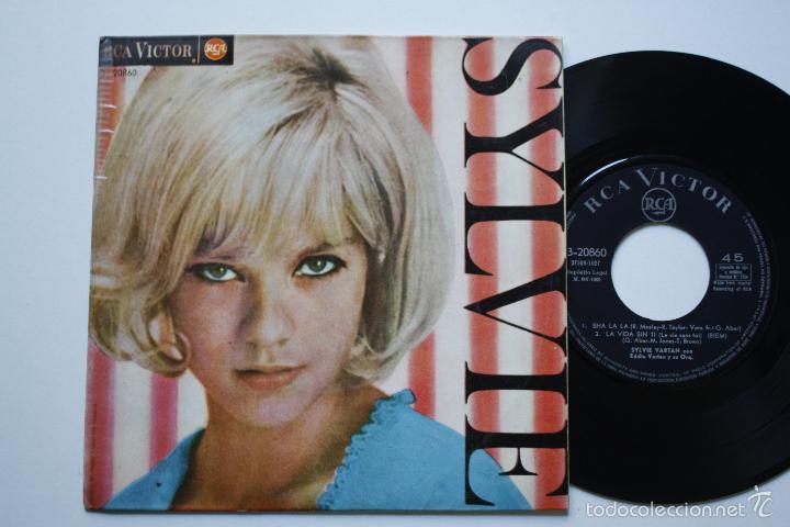 SYLVIE VARTAN- SHA LA LA +3- SPANISH EP 1965- VINILO EN BUEN ESTADO. (Música - Discos de Vinilo - EPs - Canción Francesa e Italiana)