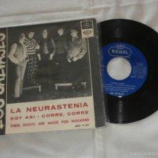Discos de vinilo: LOS SALVAJES 7´EP LA NEURASTENIA + 3 TEMAS (1966) USADO EN BUEN ESTADO. Lote 57154019