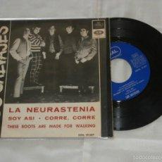 Discos de vinilo: LOS SALVAJES 7´EP LA NEURASTENIA + 3 TEMAS (1966) EXCENTE EXTADO *COVER EN ESPAÑOL T,ROLLING STONES*. Lote 57154187