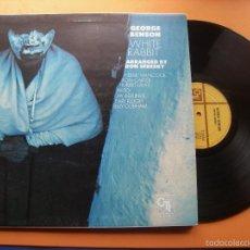 Discos de vinilo: GEORGE BENSON - WHITE RABBIT - (ESPAÑA-CTI-1978) HERBIE HANCOCK, BILLY COBHAM,... - JAZZ LP. Lote 57160201