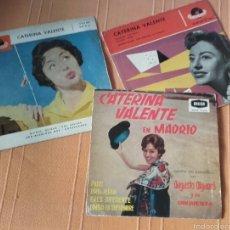 Discos de vinilo: VINILOS DE CATERINA VALENTE . Lote 57160352