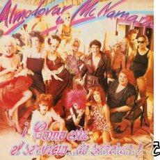 Discos de vinilo: ALMODÓVAR & MCNAMARA - ¡CÓMO ESTÁ EL SERVICIO... DE SEÑORAS!. Lote 88137492