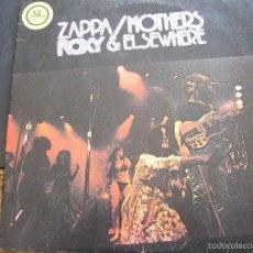 Discos de vinilo: ZAPPA / MOTHERS ROXY & ELSEWHERE 2 LP ED ALEMANA 1974. Lote 57162966