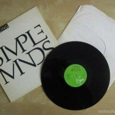 Discos de vinilo: SIMPLE MINDS - ALIVE & KICKING - MAXI VINILO ORIGINAL 1985 EDICION VIRGIN ESPAÑA. Lote 57164312